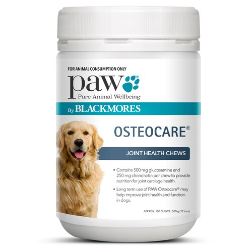 PAW Osteocare Joint Health Chews 500g - 100 Chews