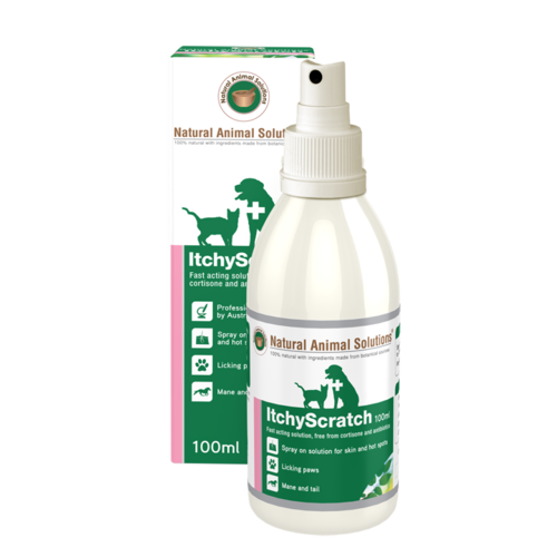 Natural Animal Solutions Itchy Scratch for Cats & Dogs - 100ml