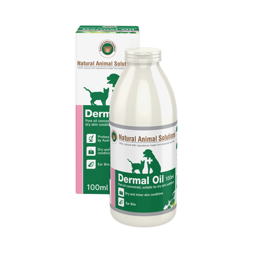 Natural Animal Solutions Dermal Oil for Cats & Dogs 100ml