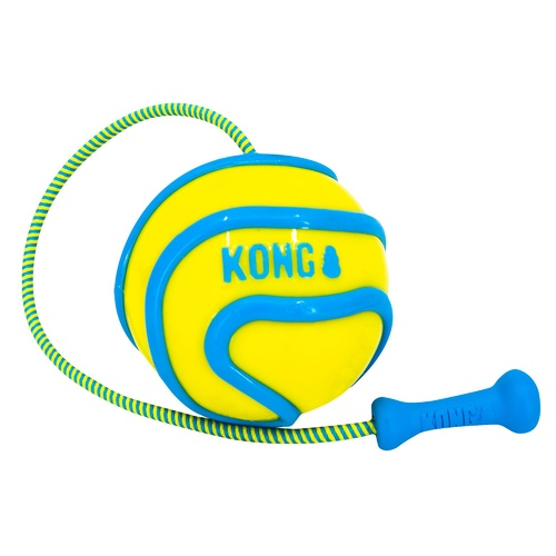 KONG Wavz Bunjiball in Assorted Colours - Medium