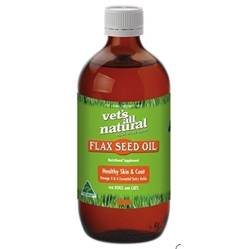 Vets All Natural Flax Seed Oil for Cats and Dogs 500ml